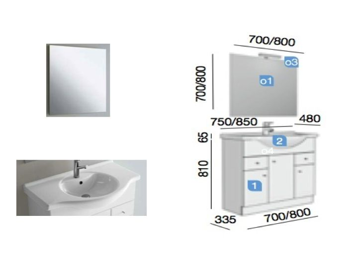 meubles lave mains robinetteries meuble sdb meuble de salle de bain 85 cm praga nilo 850. Black Bedroom Furniture Sets. Home Design Ideas