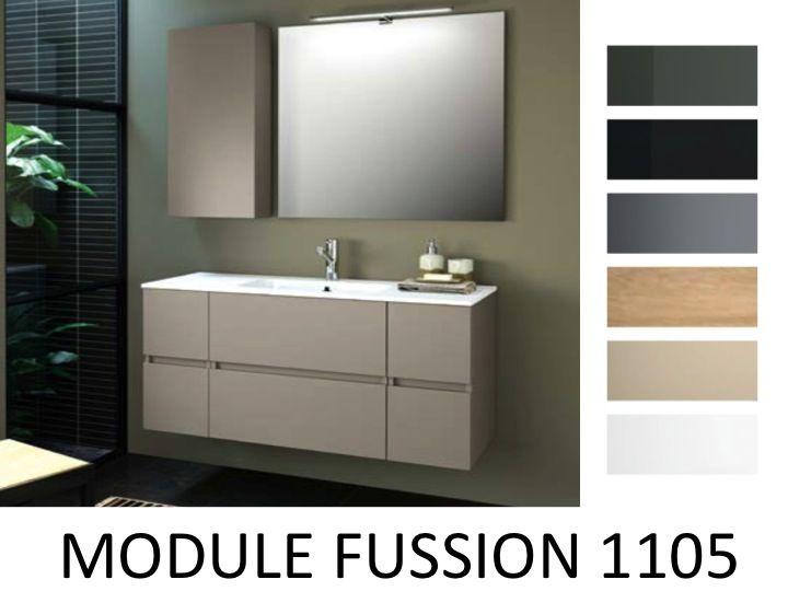 Meuble salle de bain 110 cm meuble sous vasque tiroirs cm for Meuble majorca 110