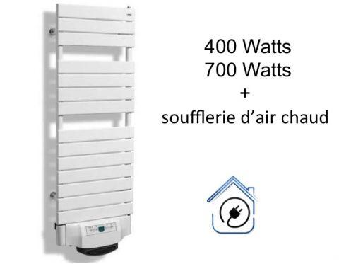 Meubles lave mains robinetteries s che serviettes radiateur s che serviet - Radiateur salle de bain seche serviette soufflant ...