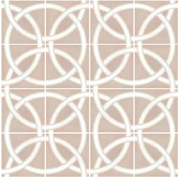carrelage sol et mur c ciment imitation art deco 4 pastel 20x20 carrelage imitation carreaux. Black Bedroom Furniture Sets. Home Design Ideas