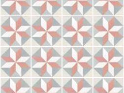 Magic pastel 20x20 carrelage imitation carreaux de ciment - Gres cerame imitation carreaux de ciment ...
