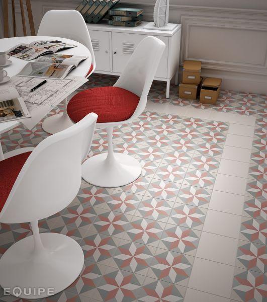 carrelage sol et mur c ciment imitation art deco 5 pastel 20x20 carrelage imitation carreaux. Black Bedroom Furniture Sets. Home Design Ideas