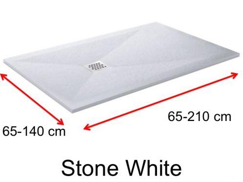 receveurs de douches longueur 130 receveur de douche 130 cm en r sine de petite taille et de. Black Bedroom Furniture Sets. Home Design Ideas