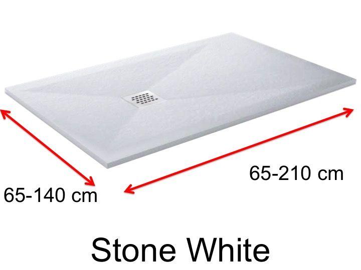 receveurs de douches longueur 135 receveur de douche 135 cm en r sine de petite taille et de. Black Bedroom Furniture Sets. Home Design Ideas