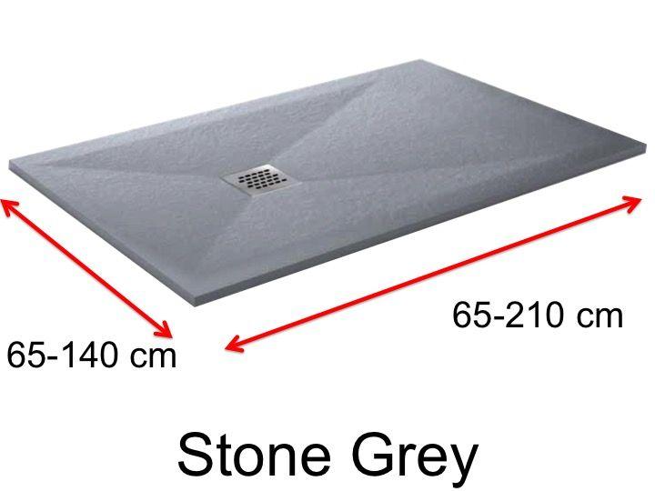 receveurs de douches longueur 150 receveur de douche 150 cm en r sine de petite taille et de. Black Bedroom Furniture Sets. Home Design Ideas