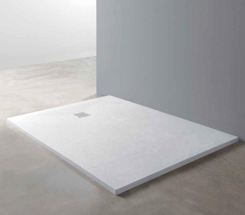 Receveurs de douches longueur 150 90 95 100 x150 receveur de douche type corian en r sine - Receveur douche corian ...