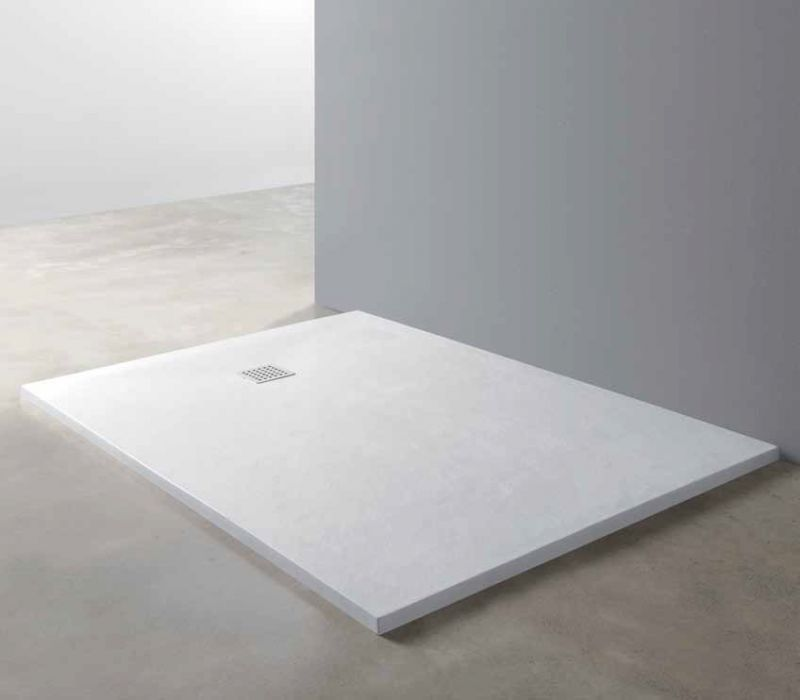 receveurs de douches longueur 150 70 75 80 85 x 150 receveur de douche type corian en r sine. Black Bedroom Furniture Sets. Home Design Ideas
