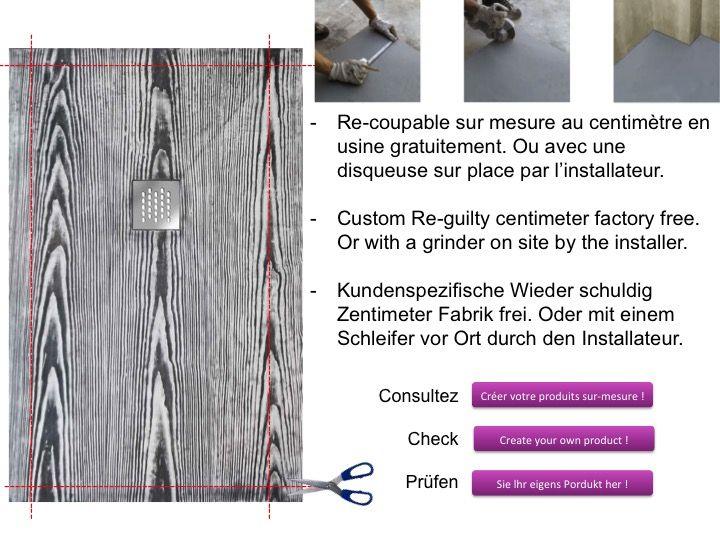 receveurs de douches longueur 155 receveur de douche 155 cm en r sine petite taille ou grande. Black Bedroom Furniture Sets. Home Design Ideas