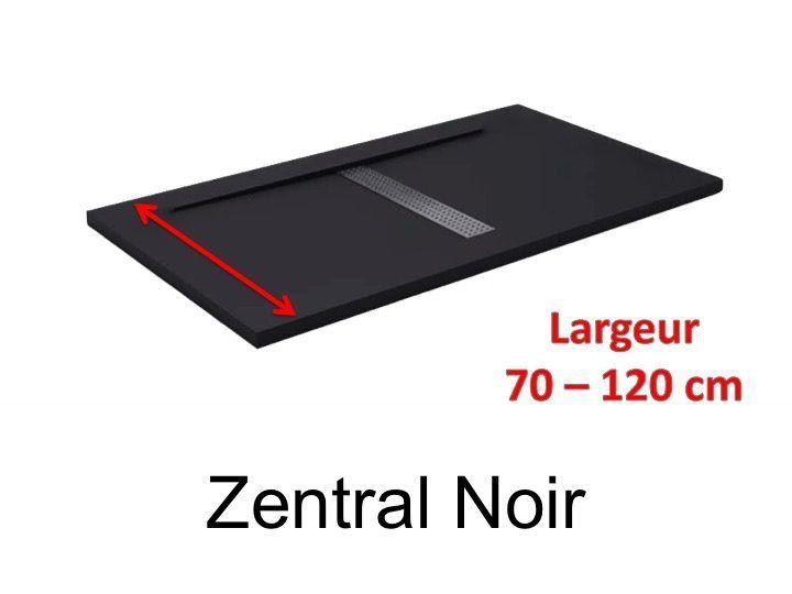Receveur De Douche 110 Cm En Resine Design Caniveau Central
