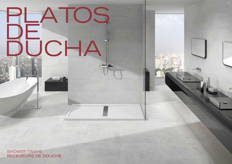 receveurs de douches longueur 120 receveur de douche 120 cm en r sine design caniveau central. Black Bedroom Furniture Sets. Home Design Ideas