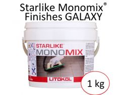 Mortier joint polyuréthane Starlike Monomix Finishes Galaxy Litokol 1 kg