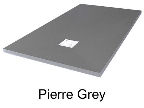 receveurs de douches longueur 75 receveur de douche 75 cm en r sine extra plat petite taille. Black Bedroom Furniture Sets. Home Design Ideas