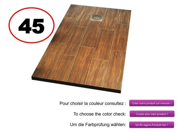 Receveur Douche En Bois : de douches Longueur 100 – Receveur de douche 100 cm, imagik bois