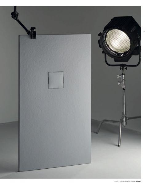 receveurs de douches longueur 100 receveur de douche 100 cm en r sine doccia piedra blanc. Black Bedroom Furniture Sets. Home Design Ideas