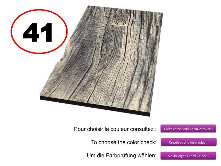 Receveurs de douches longueur 200 receveur de douche 200 cm imagik bois - Receveur douche en bois ...