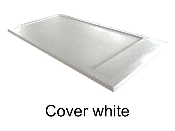 receveurs de douches longueur 130 receveur de douche 130 cm en r sine caniveau effet pierre. Black Bedroom Furniture Sets. Home Design Ideas