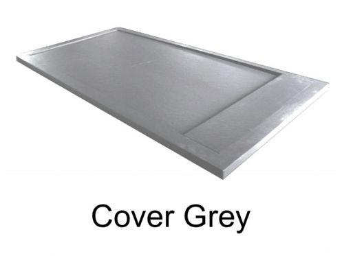 receveurs de douches longueur 180 receveur de douche 180 cm en r sine caniveau effet pierre. Black Bedroom Furniture Sets. Home Design Ideas
