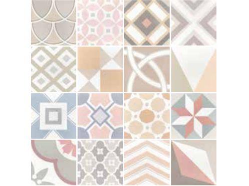 carrelages mosa ques et galets aspect cx ciment art deco 1 pastel 20x20 carrelage. Black Bedroom Furniture Sets. Home Design Ideas