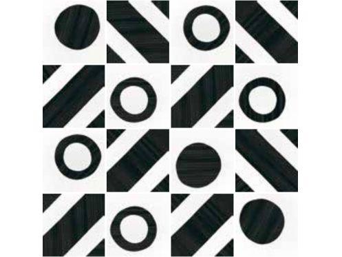 Carrelage sol et mur c ciment imitation art deco 2 b w - Gres cerame imitation carreaux de ciment ...