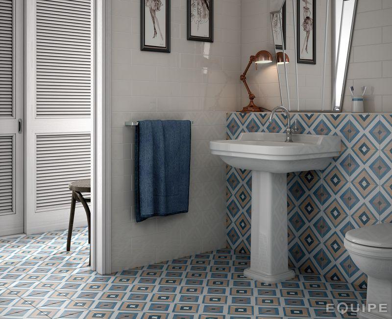carrelages mosa ques et galets aspect cx ciment art deco 8 colours 20x20 carrelage. Black Bedroom Furniture Sets. Home Design Ideas