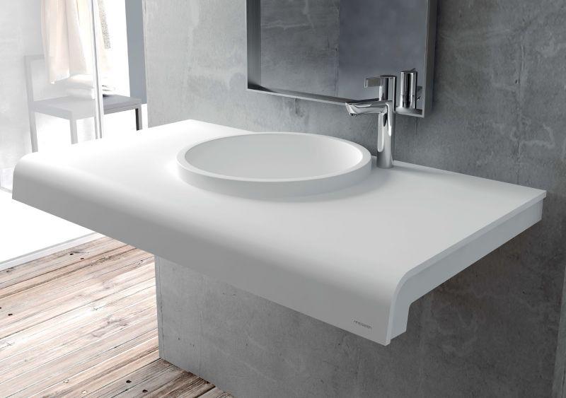 vasques largeur 70 plan vasque solid surface 70 x 50 cm en r sine puzzle acrymold cy02 blanc. Black Bedroom Furniture Sets. Home Design Ideas