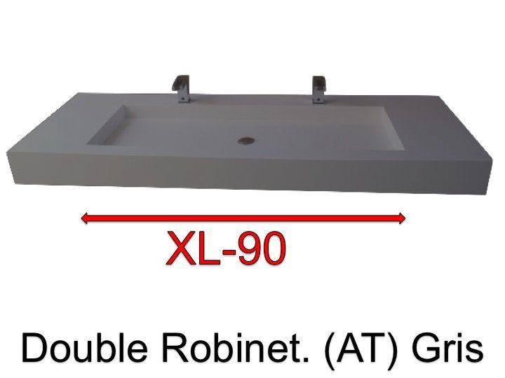 vasques largeur 110 plan vasque suspendue ou encastrer double robinetterie largeur 110 cm. Black Bedroom Furniture Sets. Home Design Ideas