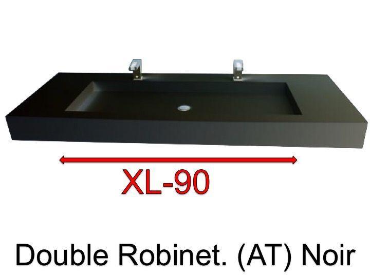 Vasques largeur 120 plan vasque suspendue ou encastrer - Vasque suspendue salle de bain ...