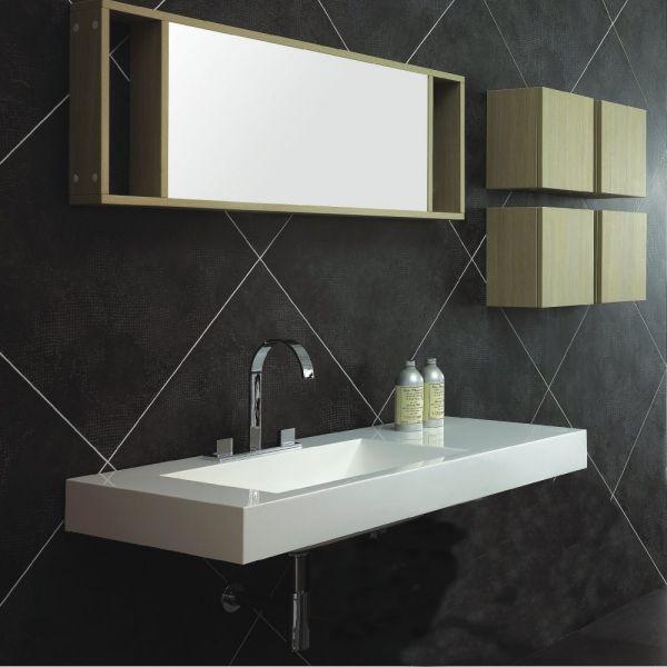 vasques largeur 110 plan vasque suspendue ou encastrer d centr droite largeur 110 cm. Black Bedroom Furniture Sets. Home Design Ideas
