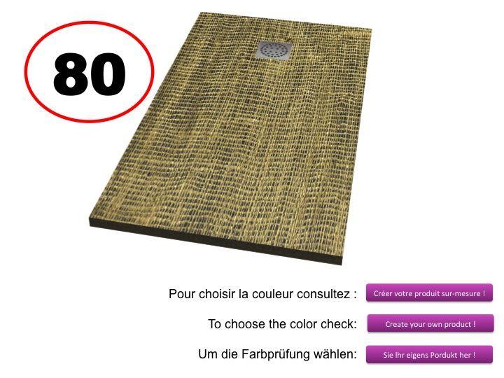 receveurs de douches longueur 130 receveur de douche 130 cm imagik art deco. Black Bedroom Furniture Sets. Home Design Ideas