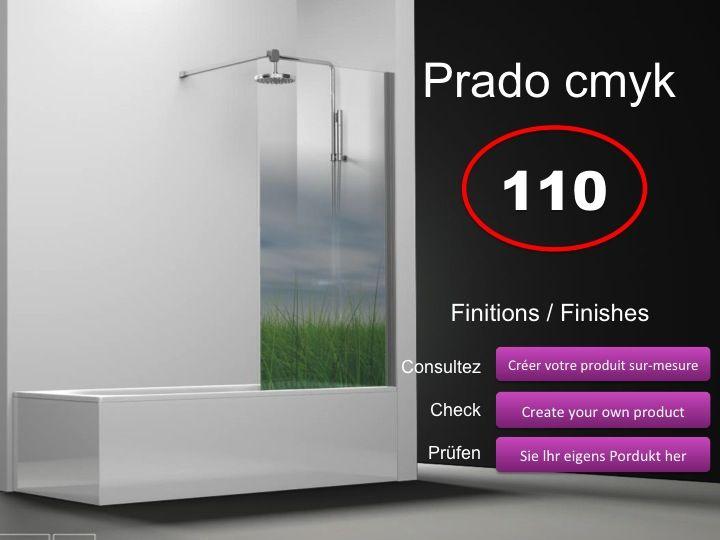 paroi de douche longueur 110 pare baignoire panneau fixe. Black Bedroom Furniture Sets. Home Design Ideas