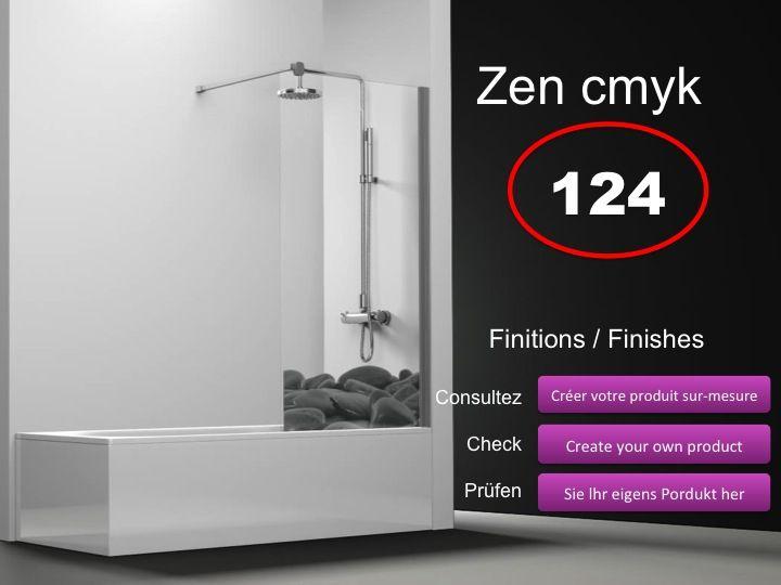 paroi de douche longueur 120 pare baignoire panneau fixe 120 cm hauteur de 100 164 cm ov1000. Black Bedroom Furniture Sets. Home Design Ideas