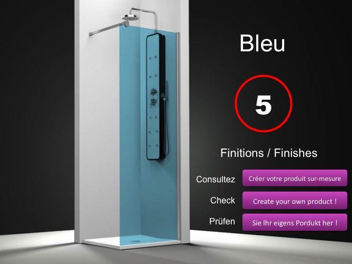 paroi de douche longueur 30 paroi de douche fixe 30 cm hauteur de 180 220 cm ov2000. Black Bedroom Furniture Sets. Home Design Ideas