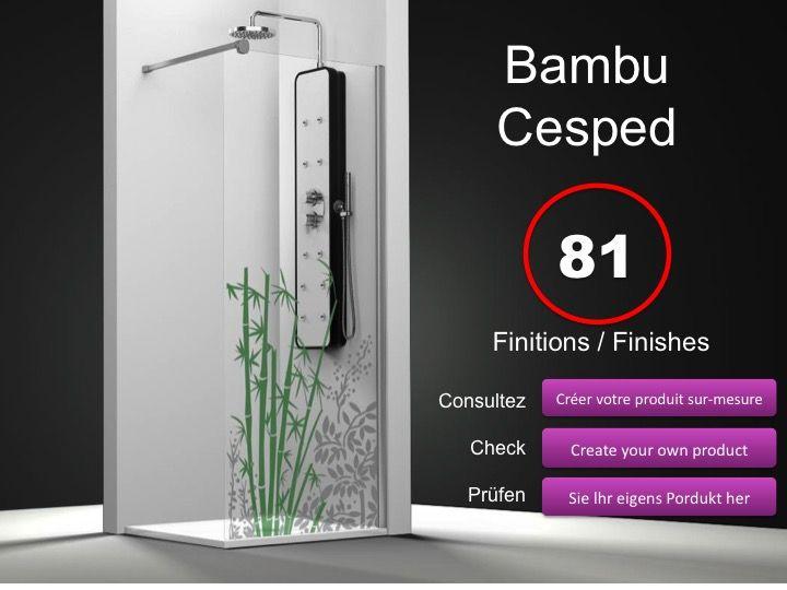 paroi de douche longueur 60 paroi de douche fixe 60 cm hauteur de 180 220 cm ov2000. Black Bedroom Furniture Sets. Home Design Ideas