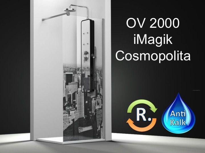 Paroi de douche longueur 25 temp type model cosmo - Temperature salle de bain ...