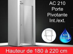 paroi de douche largeur 30 cm 30x180 30x185 30x190 30x195 30x200 30x205 30x210 30x215. Black Bedroom Furniture Sets. Home Design Ideas