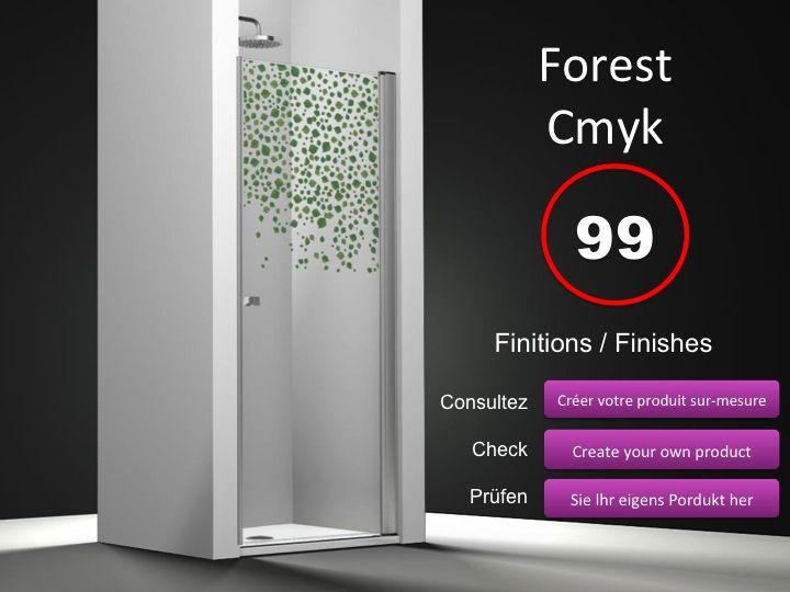 Paroi de douche longueur 60 porte de douche pivotante 60 for Porte de douche largeur 60