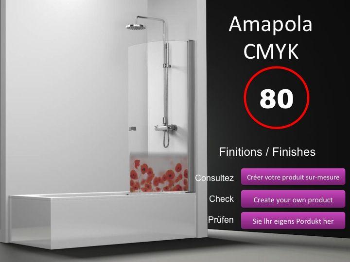 paroi de douche longueur 60 pare baignoire battant 60 cm. Black Bedroom Furniture Sets. Home Design Ideas