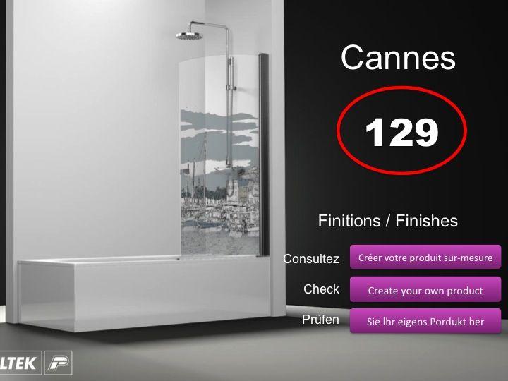 paroi de douche longueur 60 pare baignoire battant 60 cm fixation gauche hauteur de 100. Black Bedroom Furniture Sets. Home Design Ideas