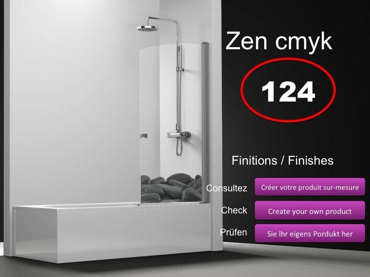 paroi de douche longueur 100 pare baignoire battant 100 cm fixation gauche hauteur de 100. Black Bedroom Furniture Sets. Home Design Ideas