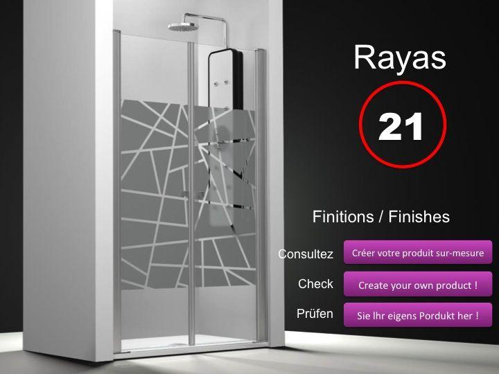 paroi de douche longueur 120 double porte de douche double pivotant mod le saloon 120 cm. Black Bedroom Furniture Sets. Home Design Ideas