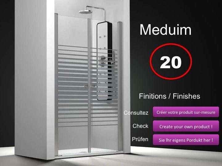Paroi de douche longueur 170 double porte de douche - Porte de douche hauteur 170 ...