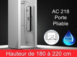 Paroi de douche largeur 70 cm 70x180 70x185 70x190 - Porte de douche 70 cm ...