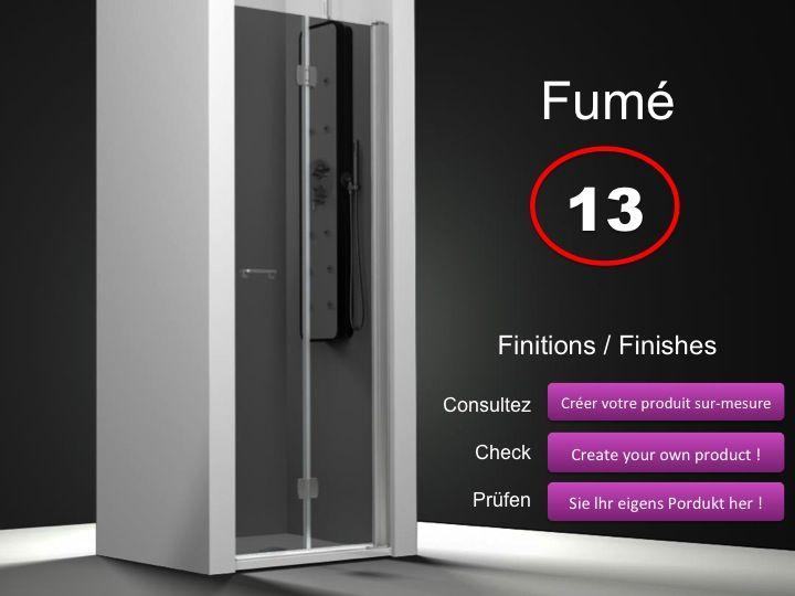 paroi de douche longueur 85 porte de douche 85 cm 2 panneaux pliables fixation droite. Black Bedroom Furniture Sets. Home Design Ideas