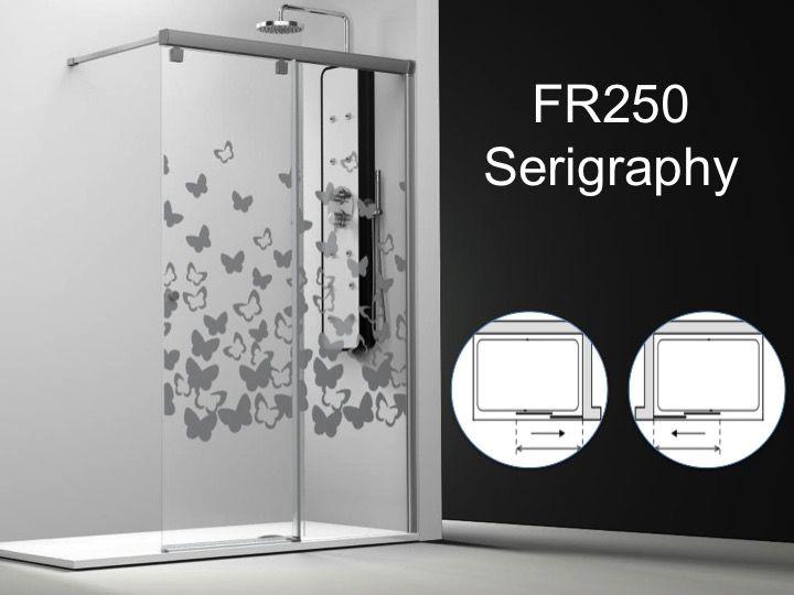 Paroi de douche longueur 120 paroi de douche coulissante 120 x195 cm d coration s rigraphie - Paroie de douche coulissante ...