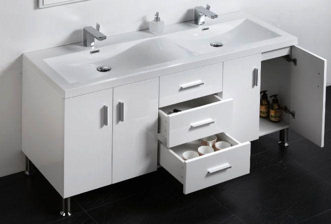 7cdd42bcc93beb elegant meuble salle de bain double vasque design pas cher with salle de bain  double vasque design