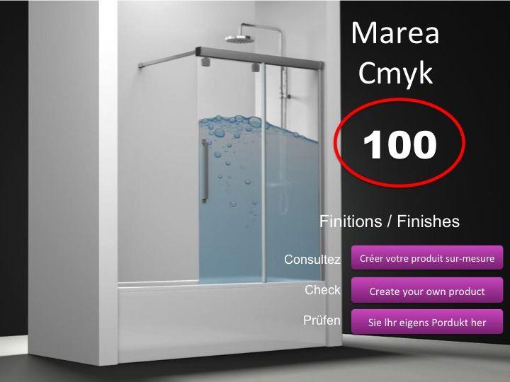 paroi de douche longueur 90 pare baignoire coulissant 90 cm fixation gauche hauteur de 100. Black Bedroom Furniture Sets. Home Design Ideas