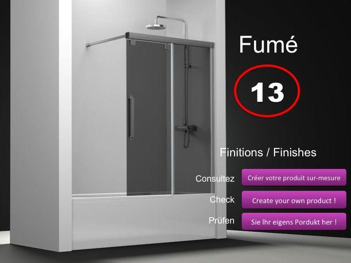 paroi de douche longueur 110 pare baignoire coulissant. Black Bedroom Furniture Sets. Home Design Ideas