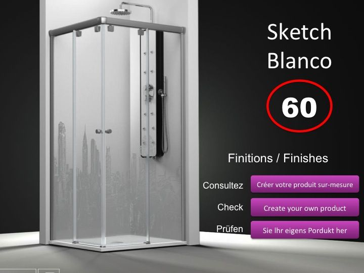 paroi de douche longueur 90 paroi de douche acc s d 39 angle 90x90 cm imagik cosmopolita hauteur. Black Bedroom Furniture Sets. Home Design Ideas
