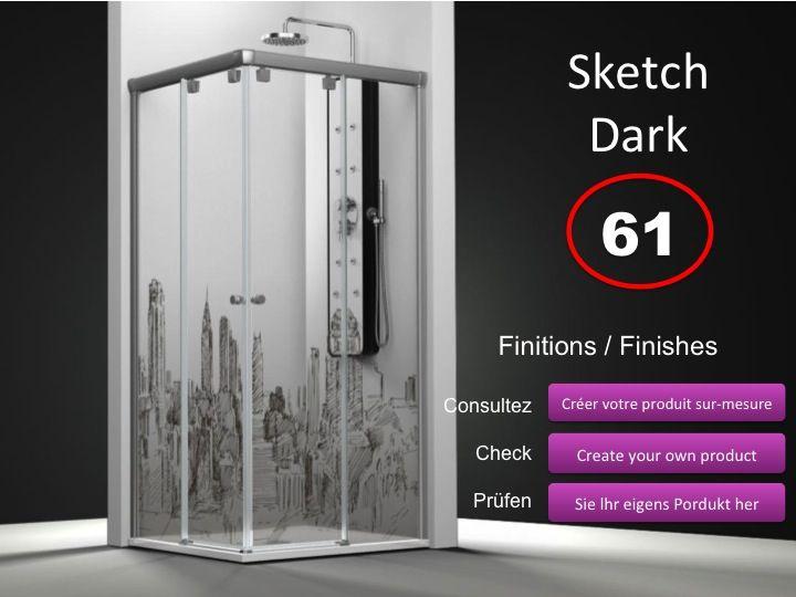 paroi de douche longueur 110 paroi de douche acc s d 39 angle 110x110 cm imagik cosmopolita. Black Bedroom Furniture Sets. Home Design Ideas