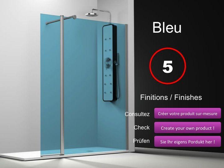 paroi de douche longueur 120 paroi de douche 120 plus 35cm un panneau fixe avec un panneau. Black Bedroom Furniture Sets. Home Design Ideas